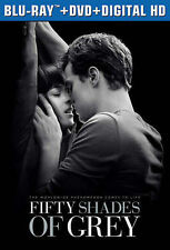 Fifty Shades of Grey Blu-Ray DVD HD Unrated & Theatrical Version & Alternate End