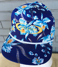Calgon Water Softener Hawaiian Tropical VTG Snapback Baseball Cap Hat