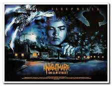 "A Nightmare on Elm Street 24""x16"" Old Horror Movie Silk Poster Wall Decoration"