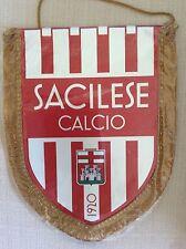 GAGLIARDETTO UFFICIALE CALCIO SACILESE CALCIO 1920 CON RETRO TRICOLORE