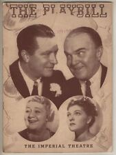 """Leave It To Me!""  Playbill 1939  Cole Porter, Mary Martin DEBUT, Sophie Tucker"