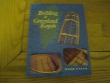 BUILDING A GREENLAND KAYAK MARK STARR 2002 1ST EDITION