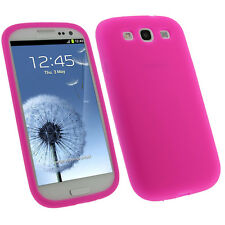 Rose Étui Housse Silicone pour Samsung Galaxy S3 III i9300 Android Smartphone