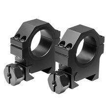 "Medium Height 1"" 30mm Black Aluminum Scope Ring Mounts fits Remington 770 Rifles"