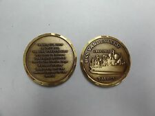 CHALLENGE COIN USS VANDENBERG LARGEST ARTIFICIAL REEF IN THE KEYS FLORIDA MARINE