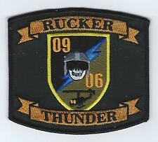 """SUPT-H CLASS 09-06 """"RUCKER THUNDER"""" patch"""