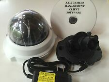 Axis Communications 216FD IP / Network Camera POE with 2-Way Audio w/ New Dome