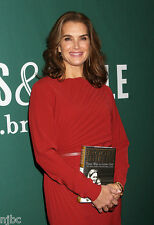 BROOKE SHIELDS SIGNED BOOK THERE WAS A LITTLE GIRL AUTOGRAPHED WITH 7REAL PHOTOS