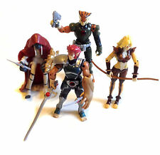 "Modern THUNDERCATS Cartoon 4"" toy figure set LIONO, MUMMRA, CHEETARAH etc"
