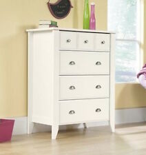White Wood Dresser Drawer Modern Bedroom Furniture Storage Of Chest NEW Drawers