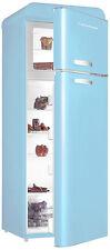 Schaublorenz Kühlschrank Hellblau Gefrierkombi Retro SL208LB DD A+