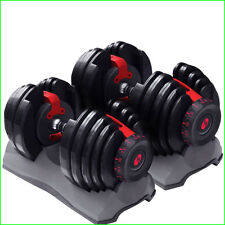 Pair of Bowflex Selecttech 552 Adjustable Dumbbells Set of Two