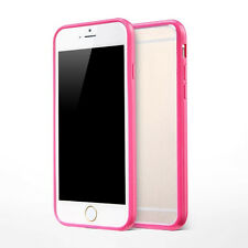 Bumper Transparent Soft Skin Back Case Cover Protector For Apple iPhone 6 Plus