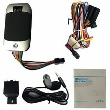 GPS Car Auto Vehicle Van Motor Tracker Tracking Device Locator System TK303F