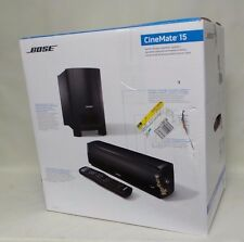 Bose CineMate 15 Home Theater Speaker System New - Open Box  #Onep1