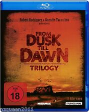 From dusk till dawn - Trilogy [Blu-ray] Quentin Tarantino * NEU & OVP *
