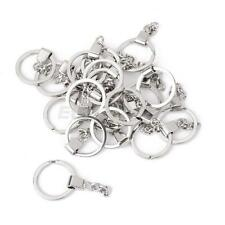 2 x SILVER KEY RING BLANKS KEY CHAIN FINDINGS