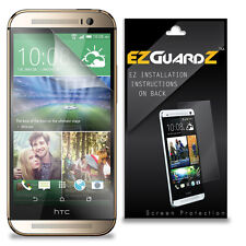 1X EZguardz LCD Screen Protector Shield HD 1X For HTC One M8 Prime (Ultra Clear)