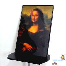 Mona Lisa Smile Puzzle Photo Frame,Deluxe Magic Puzzle Magic Trick,Stage,Mental
