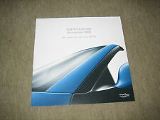 Saab 9-3 93 CABRIOLET Anniversary 2006 prospectus brochure, 12 pages