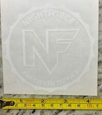 "4"" Nightforce Optics Sticker Decal Night Force Sights Riflescopes Spotting"