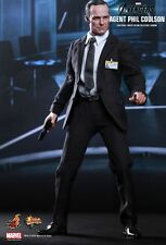 HOT TOYS 1/6 MARVEL AVENGERS MMS189 AGENT PHIL COULSON MASTERPIECE FIGURE