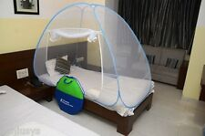India's Best CLASSIC Folding Foldable Mosquito Net for SingleBed*Premium Quality