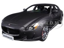 2015 MASERATI QUATTROPORTE GTS MARATEA GREY 1/18 DIECAST MODEL BY AUTOART 75806
