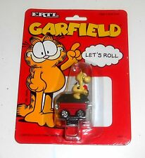 1990 - Vintage Garfield The Cat -  ODIE KENNEL CAR by ERTL - New BNIB MOC