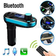 Car Kit MP3 Music Player Wireless Bluetooth FM Transmitter Radio With USB Port