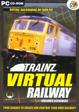 TRAINZ VIRTUAL RAILWAY Includes Scenarios for PC SEALED NEW