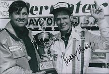 Bobby Unser SIGNED IROC Driver CHAMPION 12x8 Photo AFTAL COA Autograph
