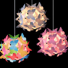 MiniSun Childrens Bedroom Butterfly Ceiling Pendant Light Shade Kids Lampshade