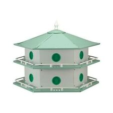 Heath AH-12D 12-Room Aluminum Purple Martin Bird House