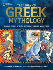 Treasury of Greek Mythology : Classic Stories of Gods, Goddesses, Heroes and...