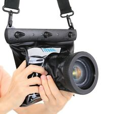 20M Underwater Waterproof Housing Bag Case DSLR SLR For Canon Nikon video Camera