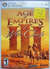 Age of Empires III: The War Chiefs (PC, 2006) USED COMPLETE