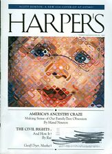 2014 Harper's Magazine: America's Ancestry Craze/Civil Rights Act Unsung Victory