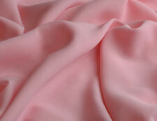 TISSU MOUSSELINE 100% POLYESTER ROSE au METRE