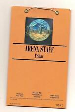 1995 ncaa final four Arena Staff Pass Ticket Full Access