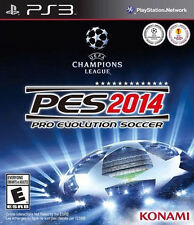 Playstation 3 Pes 2014 Pro Evolution Soccer 14  Game BRAND NEW SEALED PS3