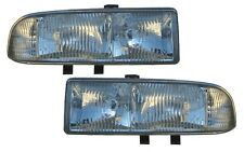 New Replacement Headlight Assembly PAIR / FOR 1998-05 CHEVROLET S10 & BLAZER