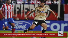 Karte UEFA CL 2008/09 Olympique Marseille - Atletico Madrid