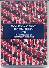 HOUSEHOLD DIVISION BEATING RETREAT 1986 DVD - IN PRESENCE OF HM THE QUEEN