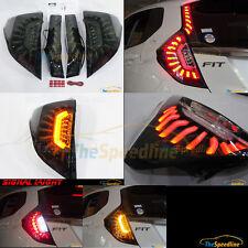 COLIN MBRO 14 15 16 HONDA FIT JAZZ LED Strip Tube TAIL LIGHT LAMP SET SG SMOKE