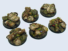 Micro art studios BNIB Forest bases, ronde 40mm (2) b00522