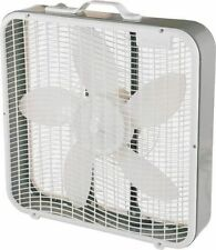 NEW CAMAIR BX100 20 INCH ELECTRIC USA MADE 3 SPEED BOX FAN WITH HANDLE 5893052
