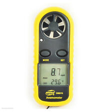 Weather Station Home Portable Anemometer Thermometer Wind Speed Meter Tool