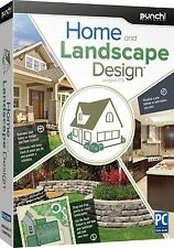 HOME & LANDSCAPE DESIGN PC Software by Punch--Version 17.5-----brand new