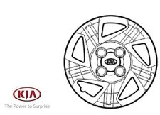 Genuine Kia Picanto 2011-2015 14 inch Wheel Trim - 5296007050